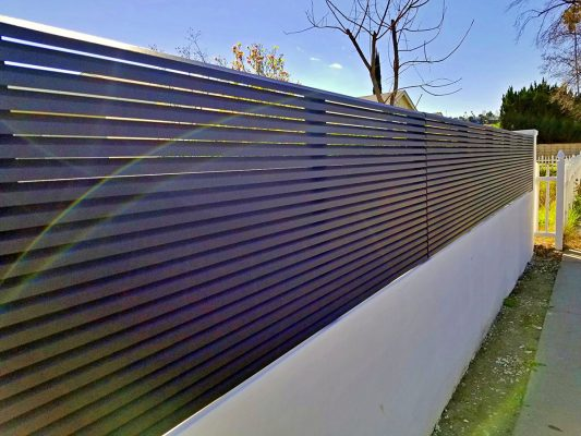 Hi-tech aluminum fencing
