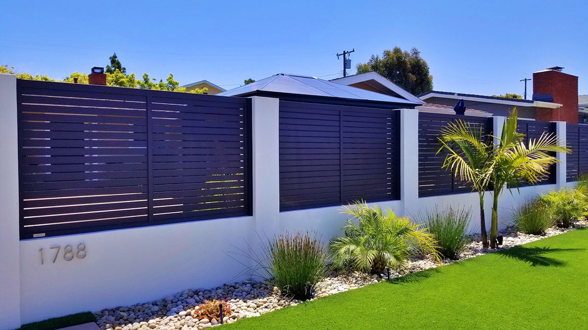 Specialty aluminum perimeter fence