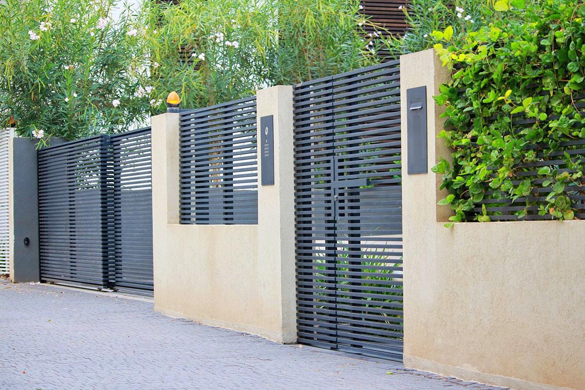 Hi-Tech Aluminum entry and driveway gates
