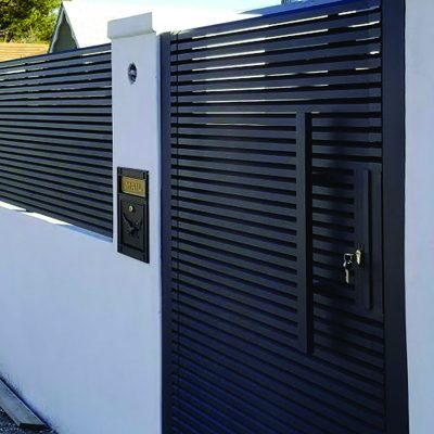 Aluminum Privacy Gate