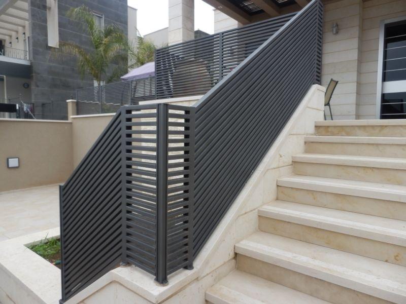 Hi-tech aluminum railing