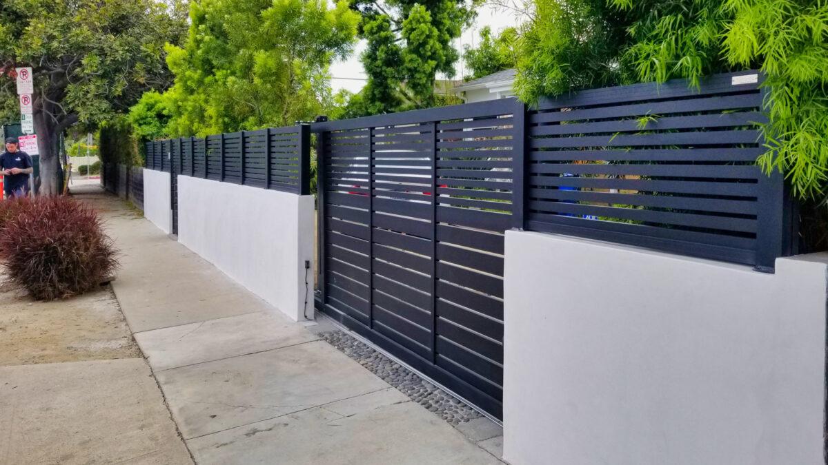 Profile 24 driveway gate