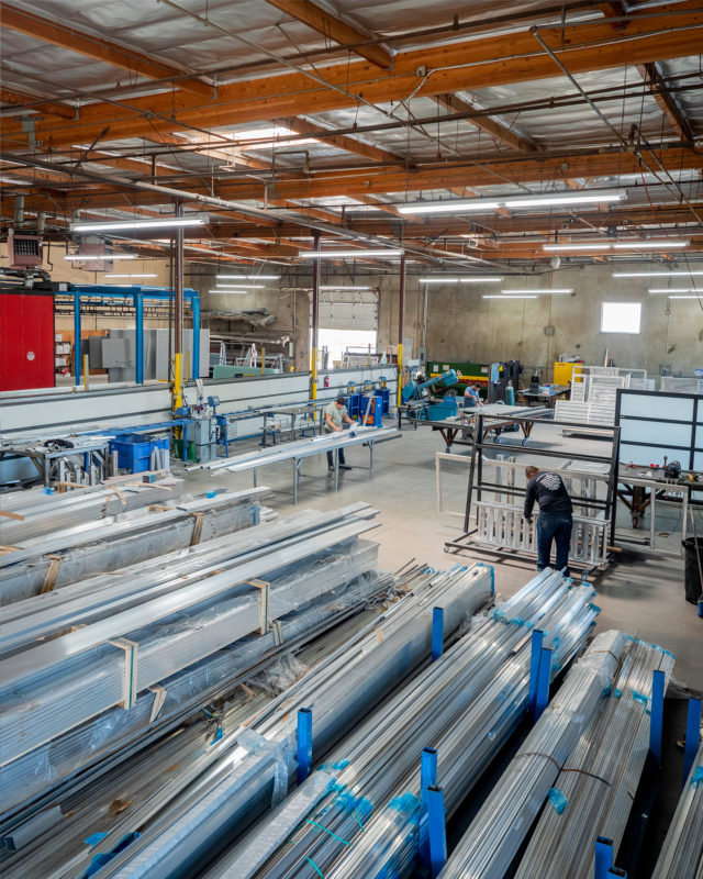 gates and fences manufacturing facility