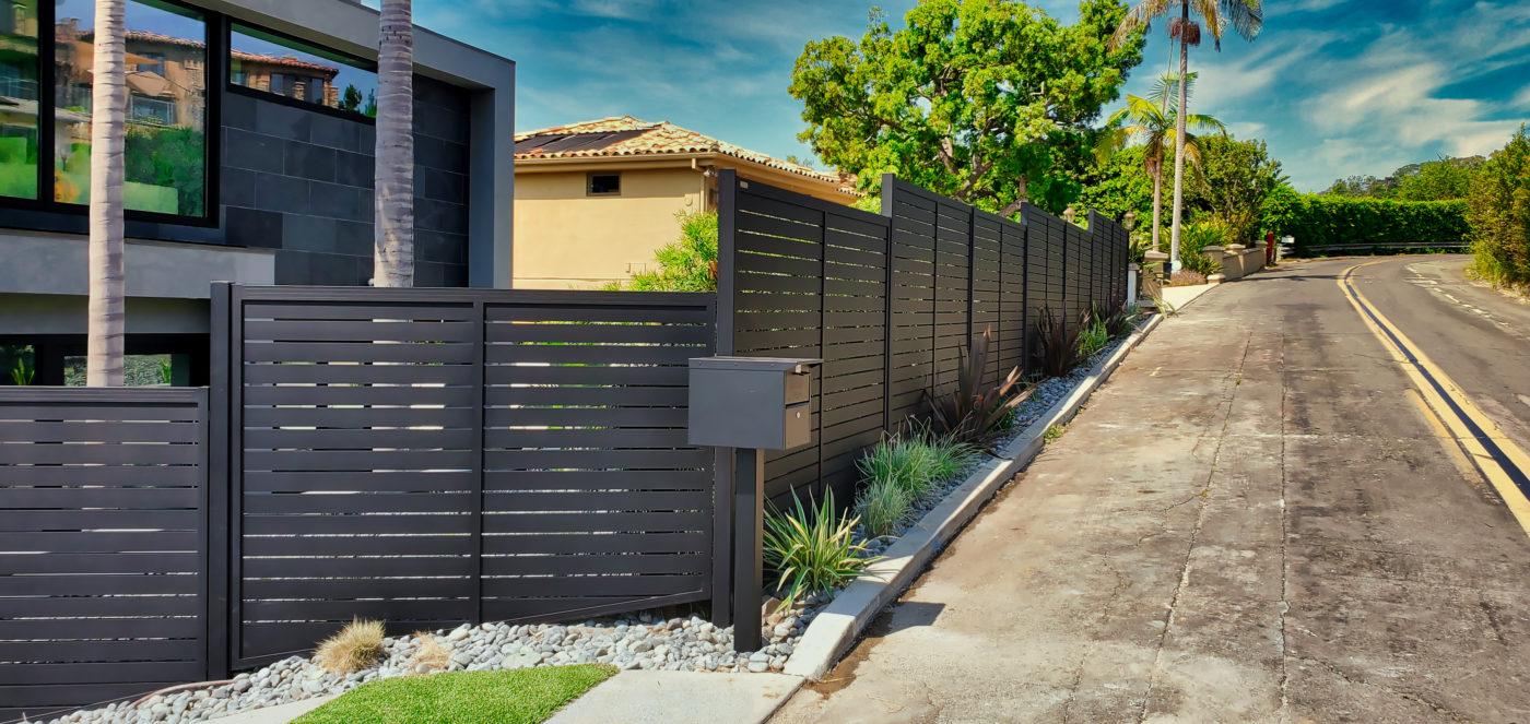 stepped fence buffers sound