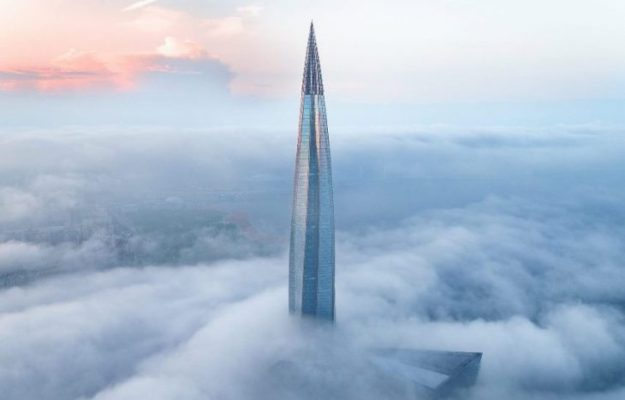 Tallest Skyscraper in Europe Constructed with Aluminum Façade