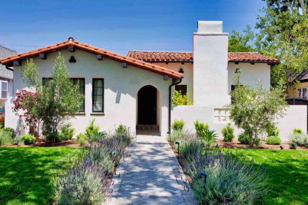 Spanish Mediterranean Home in California